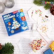 """Аквамозаика """"Новогоднее волшебство"""", 12*12 см"""
