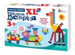 """Мозаика магнитная """"Всякая всячина"""" XL 122 эл"""