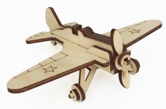 """Игрушка-конструктор """"Военный самолет И-16"""""""