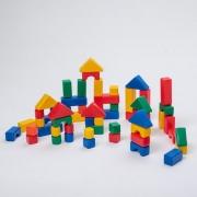 ТМ «Крошка Я». Строительный набор, 60 элементов, 4 х 4 см