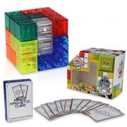 Головоломка Кубики прозрачные магнитные