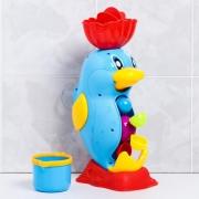 Игрушки для купания «Мельница. Пингвин», на присоске