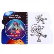 """Книжка для рисования водой """"Космос"""""""
