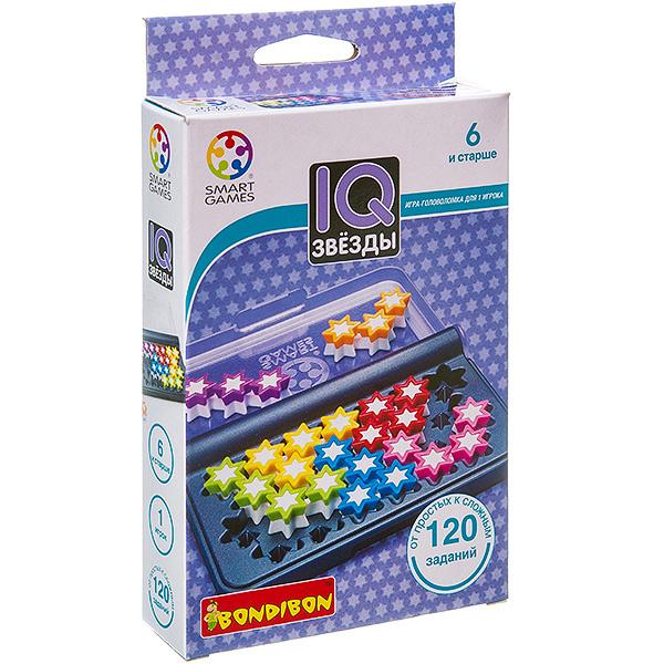 BONDIBON ВВ3066 Логическая игра IQ-Звёзды арт. SG 411 RU. - Решите все 120 заданий и дотянитесь до своей звезды в новой логической игре IQ-Звёзды от BONDIBON. Компактные размеры игры позволяют легко взять её с собой в дорогу.