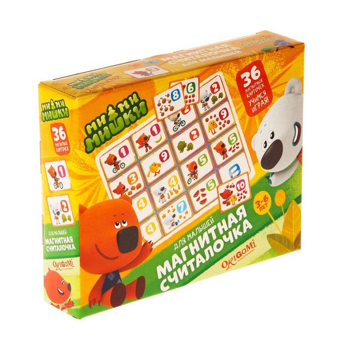 Origami. МиМиМишки.Магнитная Считалочка арт.03653 - Комплектность: 36 карточек, магниты.