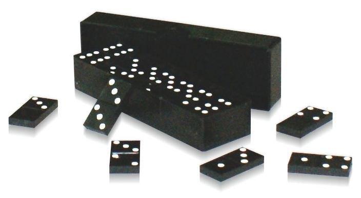 Астрон. Домино пластмассовое арт.0005 - Домино — игра, в процессе которой выстраивается цепь костяшек, соприкасающихся половинками с одинаковым числом очков. Увлекательная настольная игра.