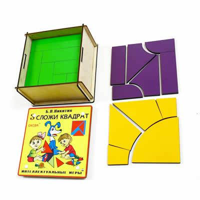 собери квадрат 3 уровень сложности класс элит - Детская развивающая игра