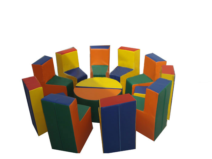 Комплект мягкой игровой мебели «Радуга» - ТОВАР ПОД ЗАКАЗ! СВЯЖИТЕСЬ С НАШИМ МЕНЕДЖЕРОМ - (4212)242-042 8-914-159-20-42
