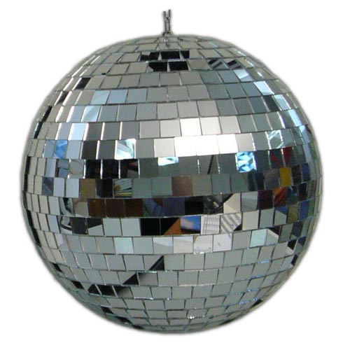 Зеркальный шар с приводом вращения - ПОД ЗАКАЗ!