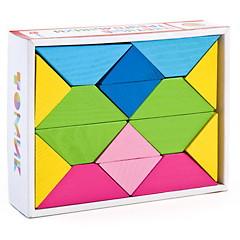 Цветные треугольники Томик - Материал: дерево.  Размер упаковки: 13 х 17 х 4 см.