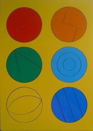 Сложи круг №1 - автор Наталия Семенова. Развивающая игра