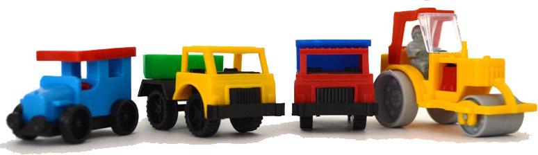 Набор мини-машинок арт.С-88-Ф - Длина машинок: 4-9 см