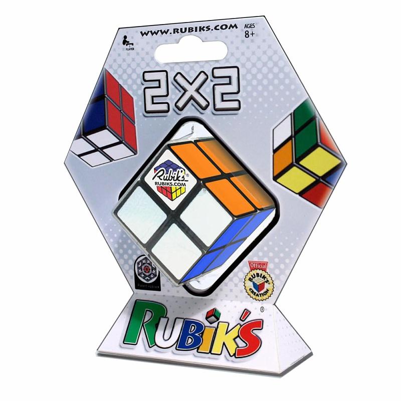 Головоломка РУБИКС КР1222 Кубик Рубика 2х2 46мм - Кубик Рубика 2х2 – это упрощенная версия классической головоломки для детей.