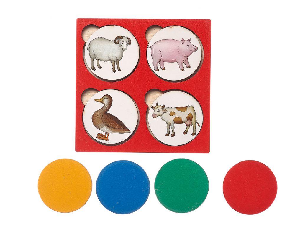 Запоминалки Ферма - Простая и полезная игра для развития внимания и памяти; для изучения понятий