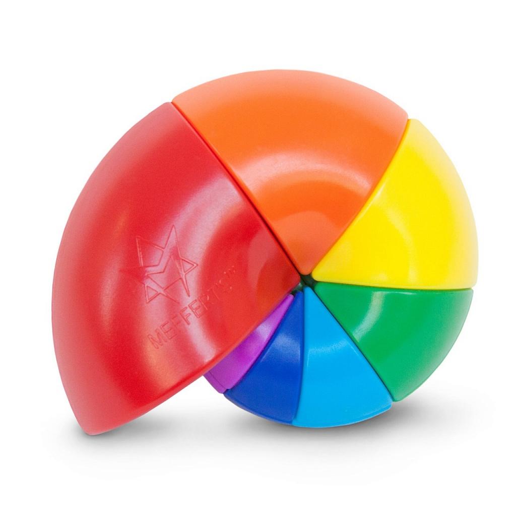 Головоломка MEFFERT'S M5811 Улитка - 7 цветов радуги в форме морской ракушки.