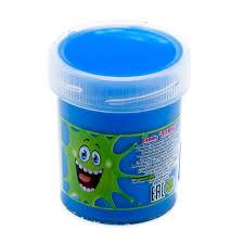 Слайм Плюх 7118GOTU 40g голубой, туба - Слайм – это эластичная масса, которую можно тянуть и мять сколько угодно. Он легко соединяется обратно в единую массу, если  порвётся.