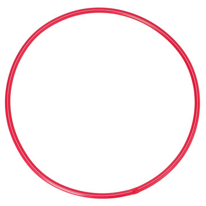 Обруч, диаметр 60 см, цвет красный - Детский пластиковый обруч — отличный тренажёр для мышц, который помогает деткам всегда оставаться бодрыми и здоровыми. Он способствует развитию у юных спортсменов координации движений, пластики, выносливости, укреплению мышц спины, рук и пресса.
