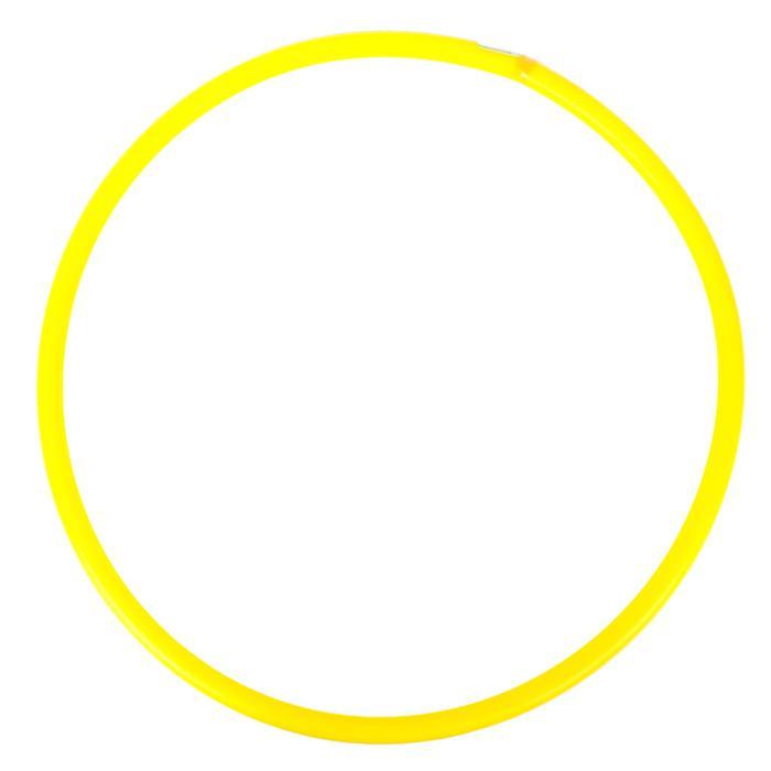 Обруч, диаметр 60 см, цвет желтый У634 -
