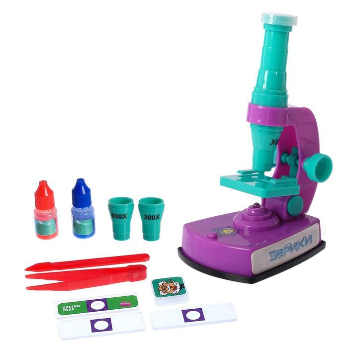 Микроскоп «Эврики» со световыми эффектами и сменными линзами -